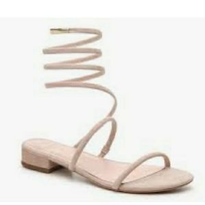 Avec les filles Caila coil ankle strap sandals 8